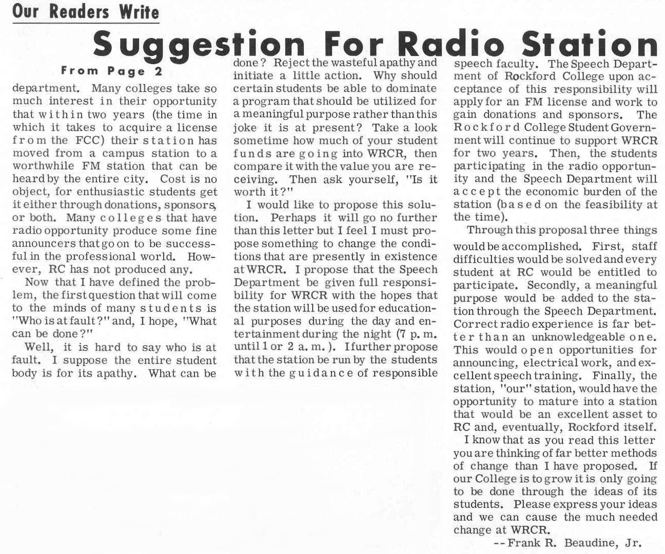 essay on a visit to radio station A musician's guide to community radio: stations that will actually play your music partner with your community radio station, share your music with your community, and help this valuable resource thrive top 10 community radio stations in the us.
